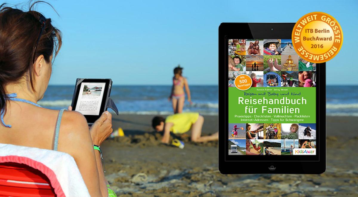 Reisehandbuch für Familien jetzt auch als Ebook erhältlich [für unterwegs]