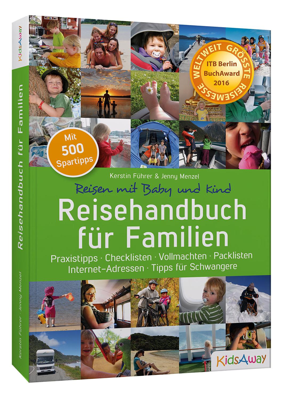 """""""Reisehandbuch für Familien"""" erhält den ITB BuchAward 2016 [Preisverleihung]"""